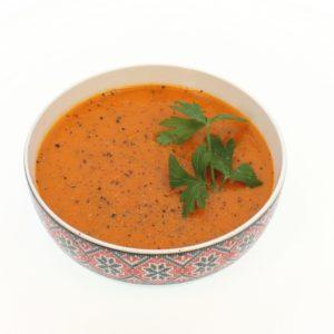 D- Supa crema de rosii