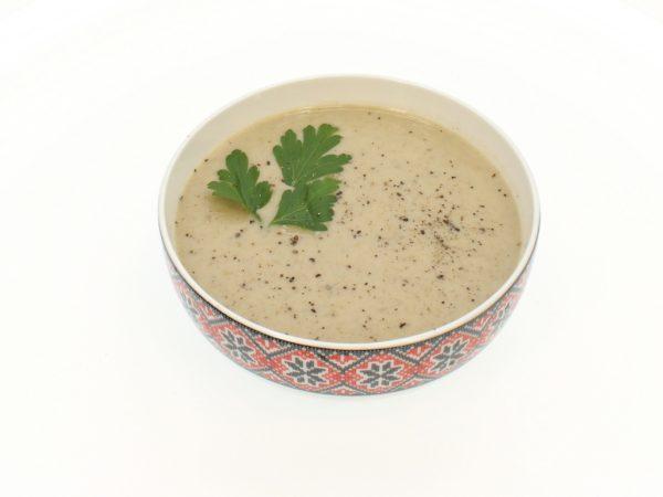 Supa cremă de ciuperci