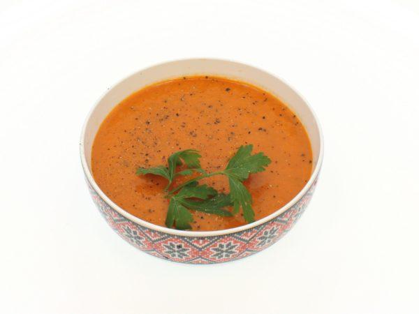 Supa crema de rosii
